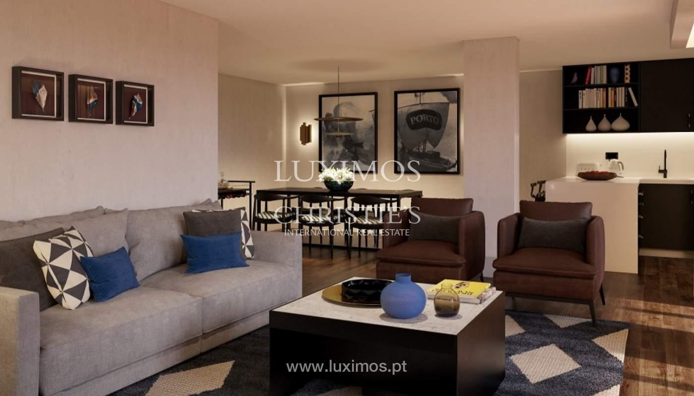 Apartamento T3 Duplex de 3 nuevo, vistas al río, V. N. Gaia, Porto, Portugal _90156