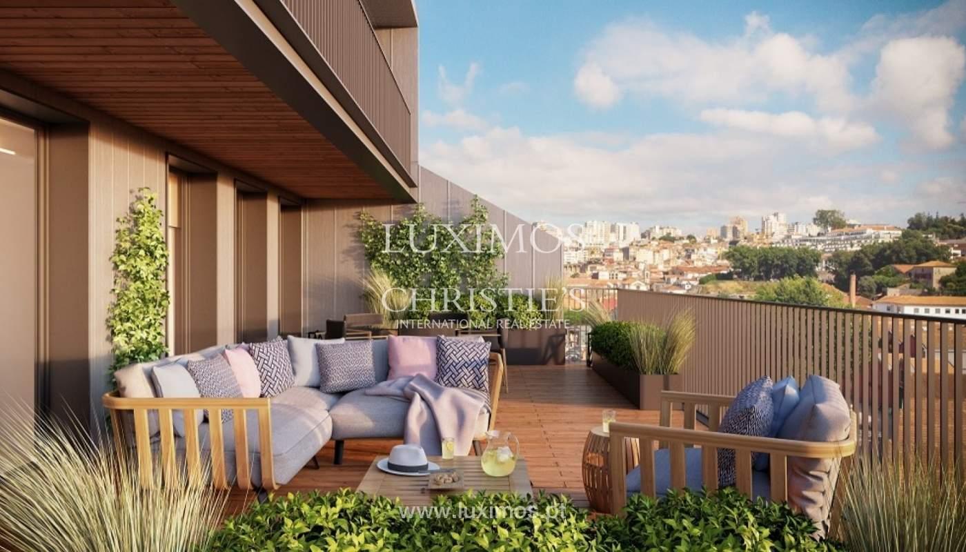 Apartamento T3 Duplex de 3 nuevo, vistas al río, V. N. Gaia, Porto, Portugal _90157