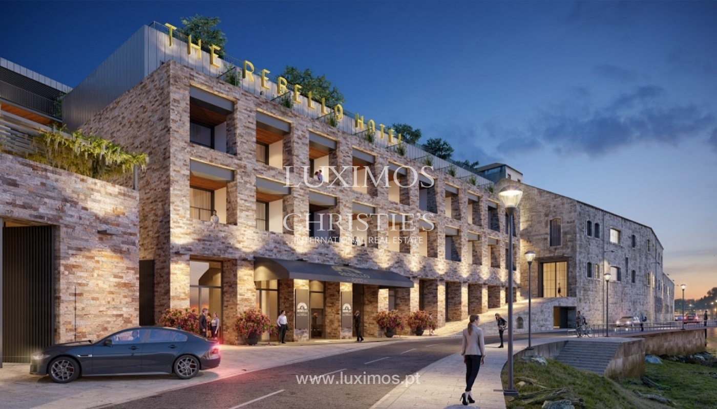 Apartamento T3 Duplex de 3 nuevo, vistas al río, V. N. Gaia, Porto, Portugal _90163
