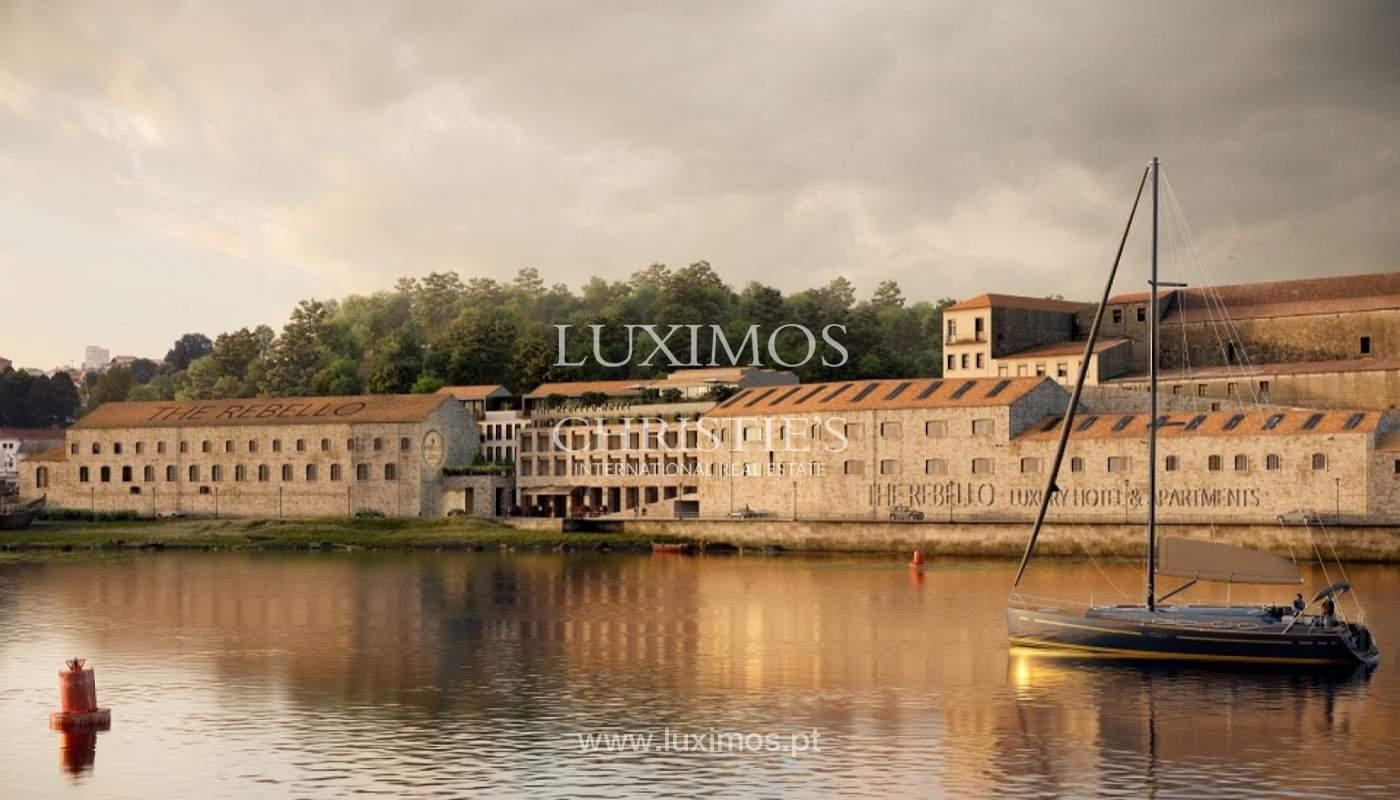 Apartamento T3 Duplex de 3 nuevo, vistas al río, V. N. Gaia, Porto, Portugal _90164