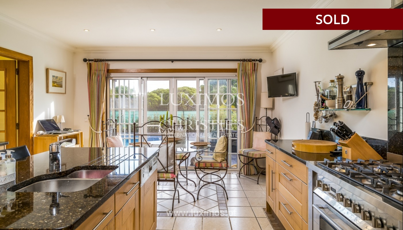 Sale of luxury villa with pool in Almancil, Algarve, Portugal_90997