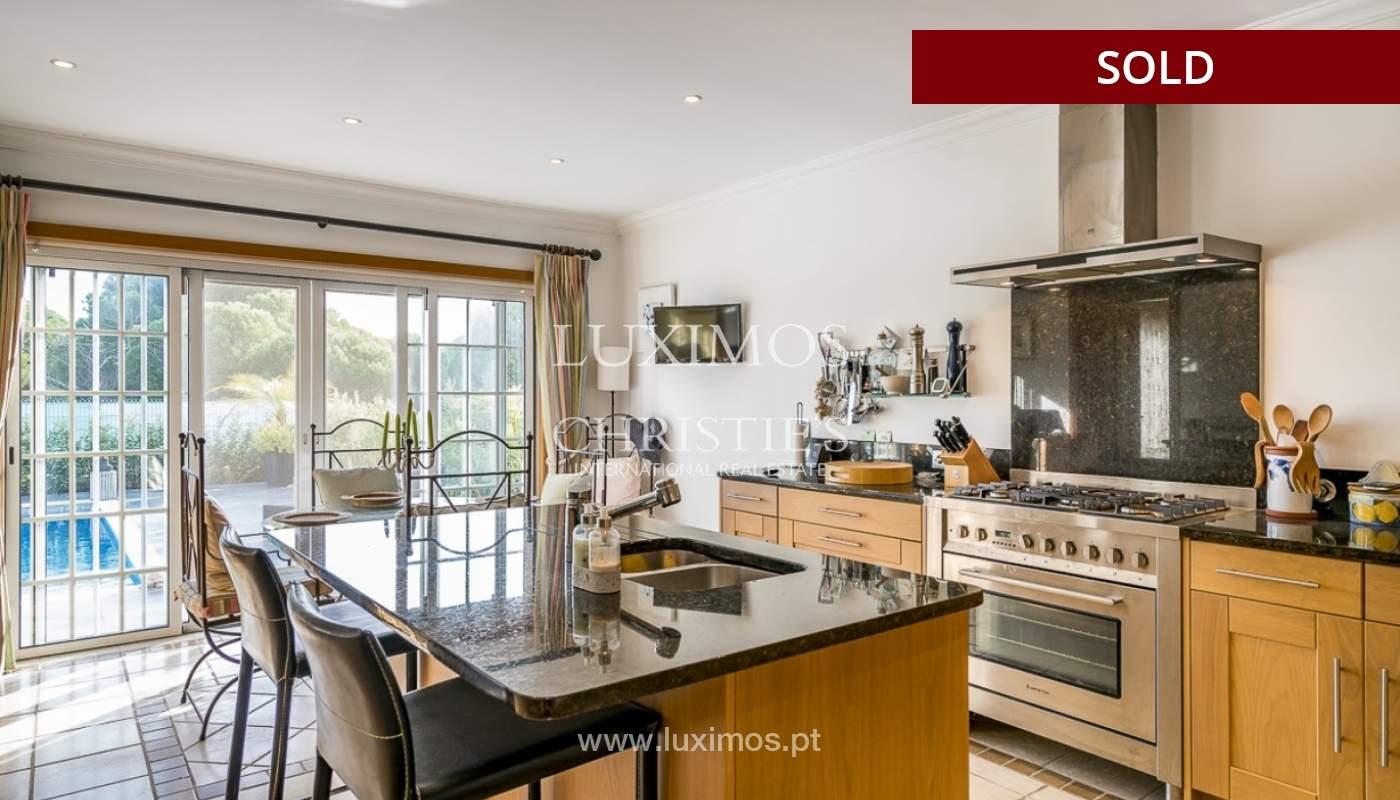 Sale of luxury villa with pool in Almancil, Algarve, Portugal_90998