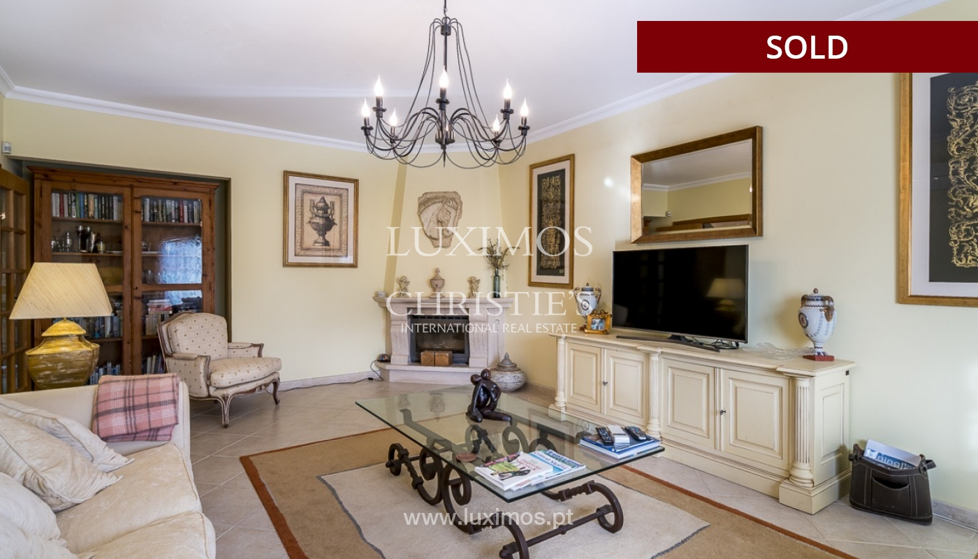 Sale of luxury villa with pool in Almancil, Algarve, Portugal_91002