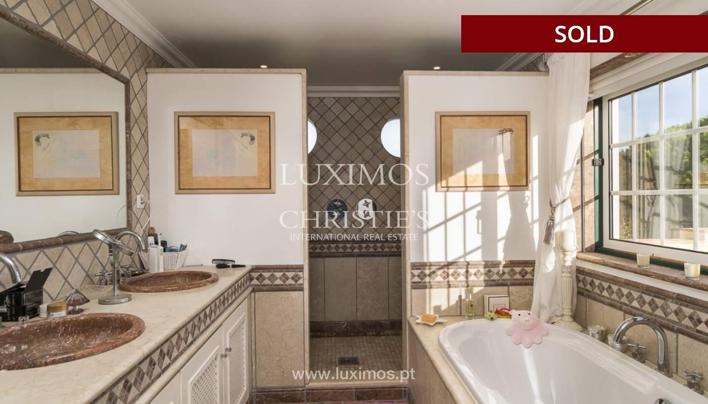 Sale of luxury villa with pool in Almancil, Algarve, Portugal_91014