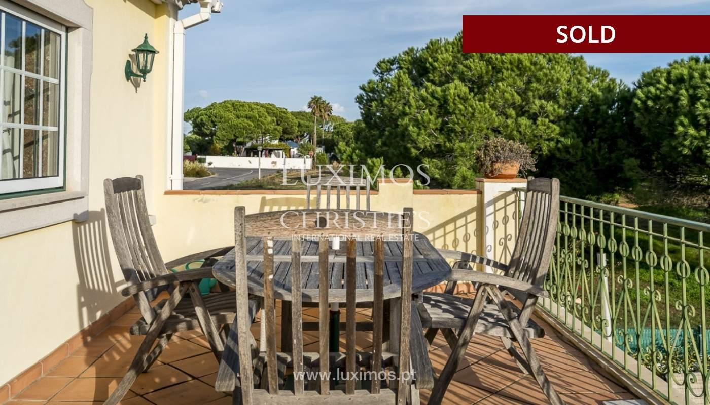Sale of luxury villa with pool in Almancil, Algarve, Portugal_91017