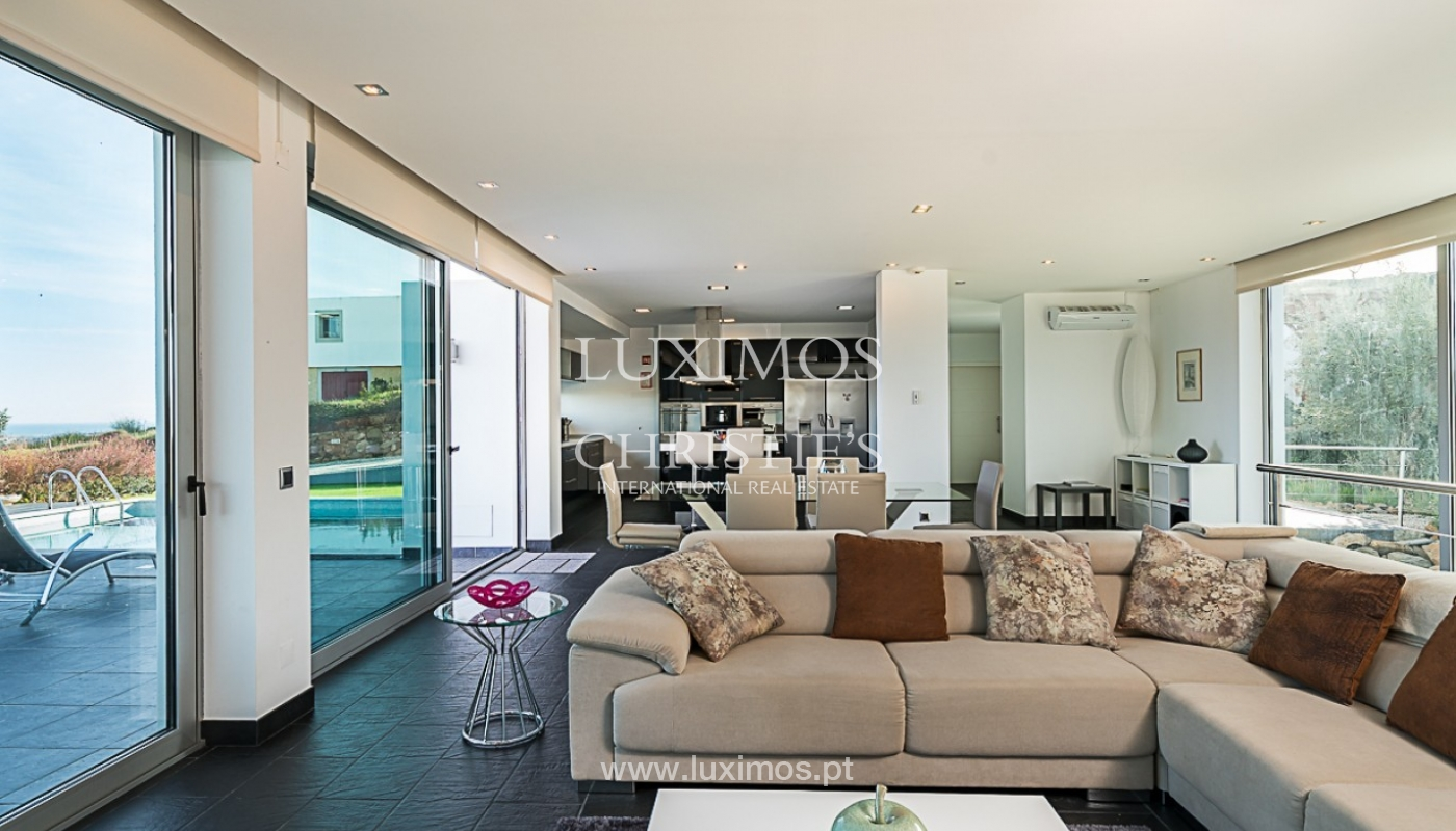 Sale of new villa with sea view in Tavira, Algarve, Portugal_91395
