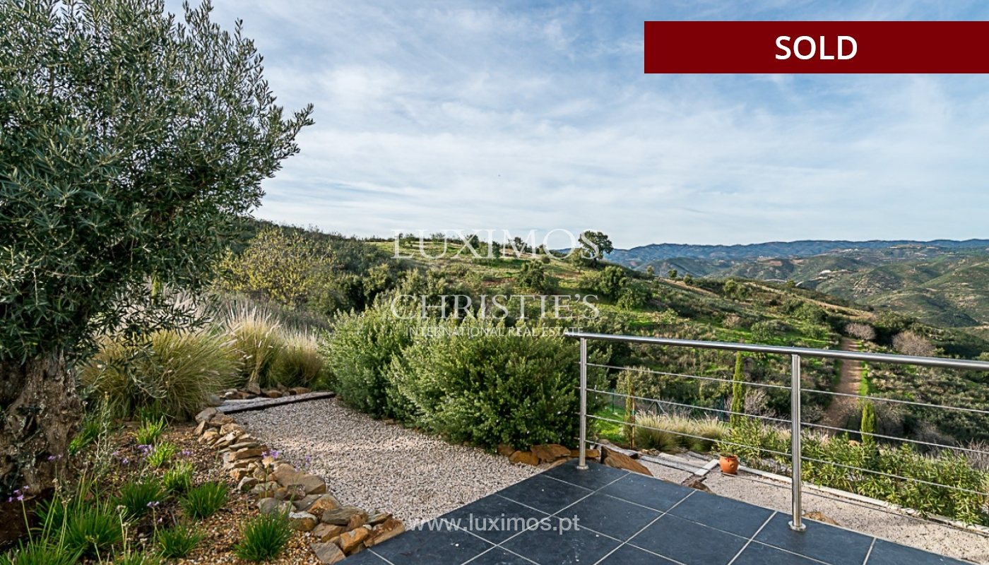Sale of new villa with sea view in Tavira, Algarve, Portugal_91408