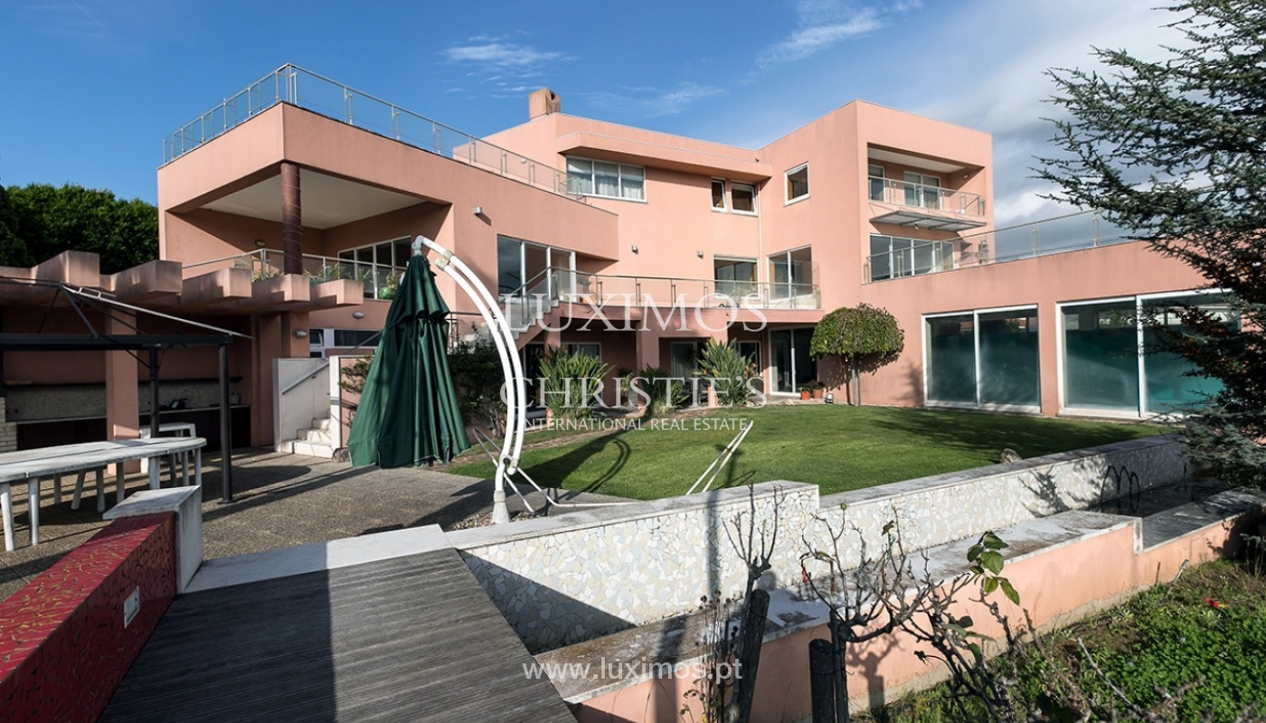 Modern and luxury villa for sale with Ocean views, Porto, Portugal_91491
