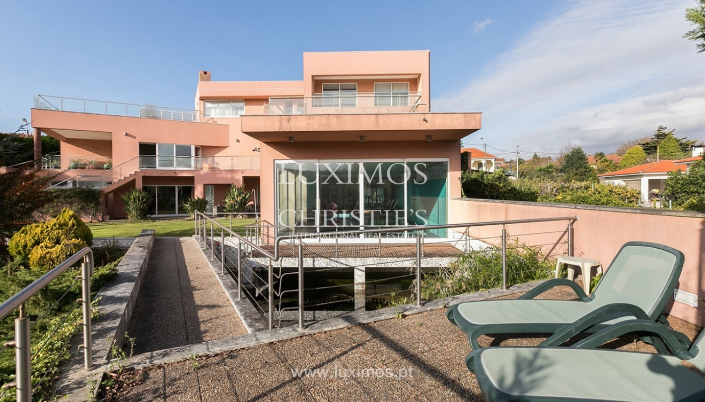 Modern and luxury villa for sale with Ocean views, Porto, Portugal_91496