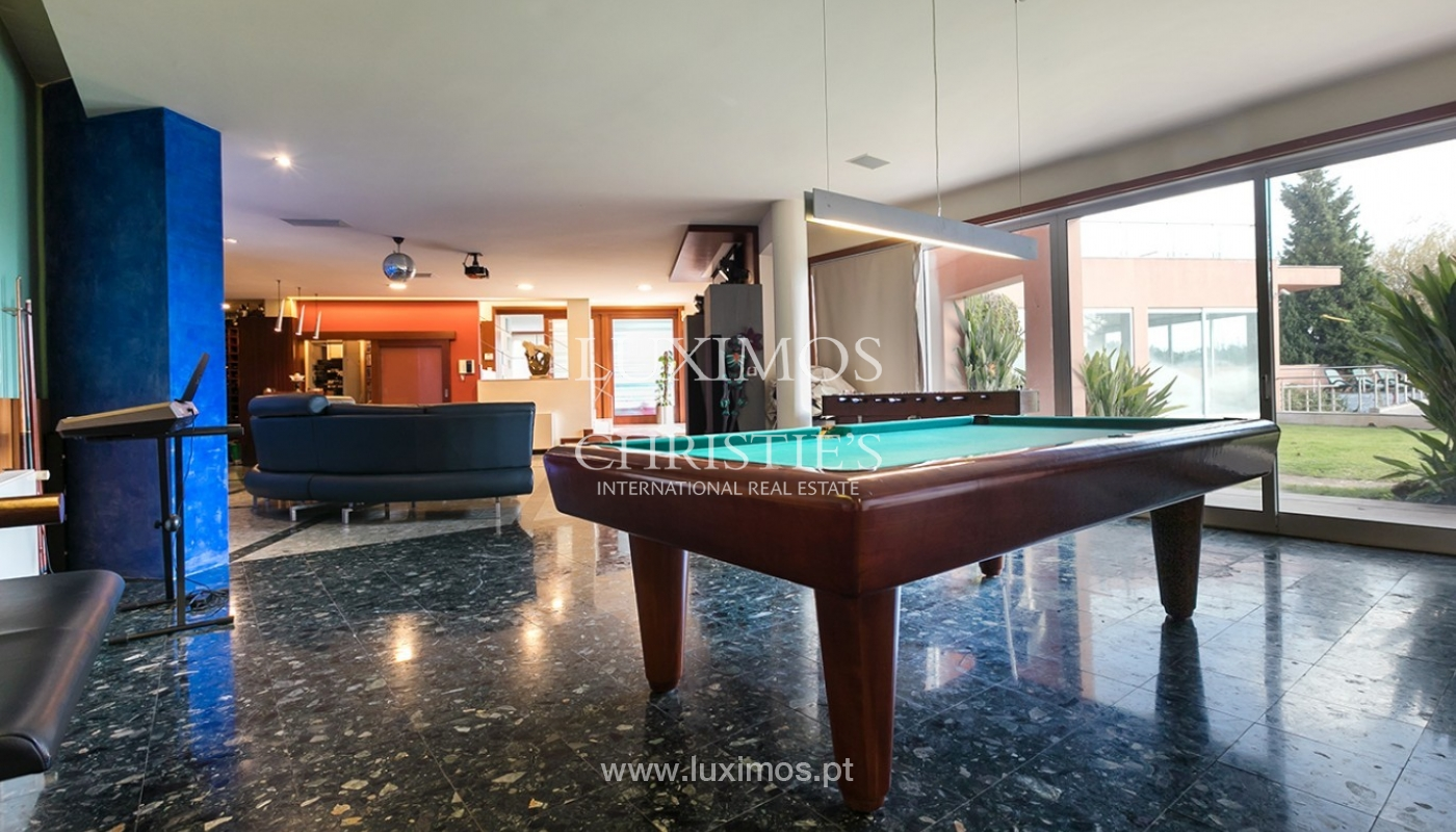 Modern and luxury villa for sale with Ocean views, Porto, Portugal_91501