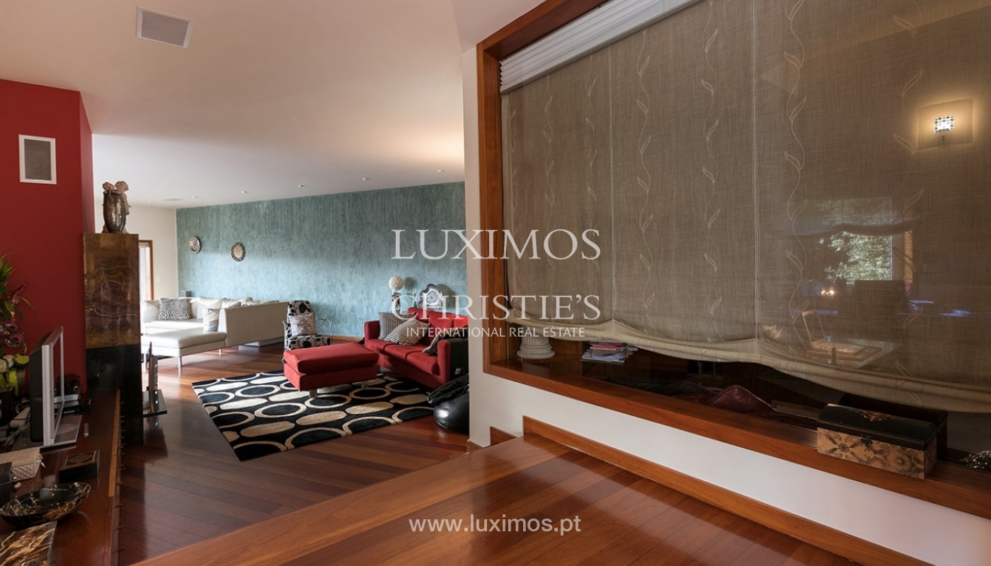 Modern and luxury villa for sale with ocean views, Porto, Portugal_91540