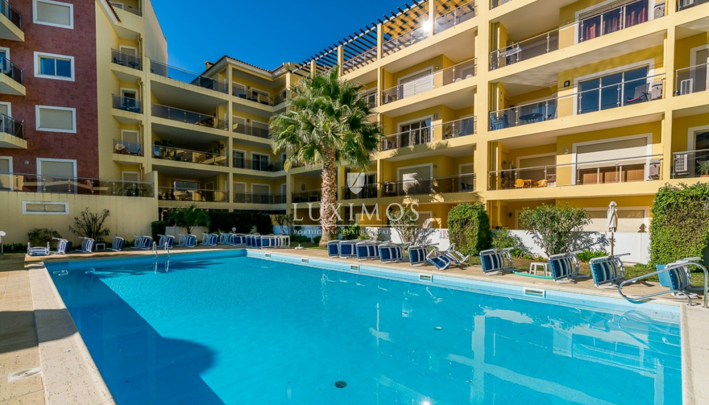 Sale of modern apartment with pool in Lagos, Algarve, Portugal_91806
