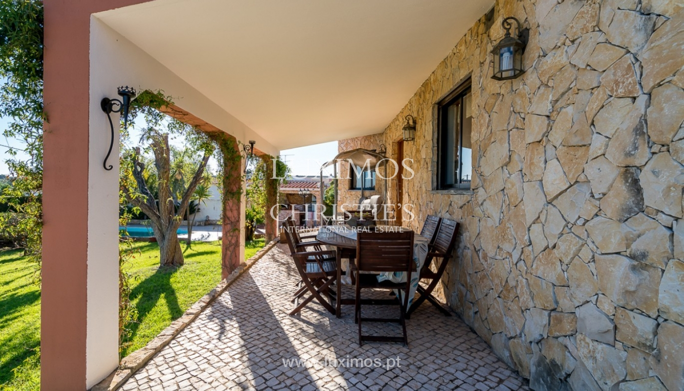 Sale of villa with pool in Portimão, Algarve, Portugal_91827