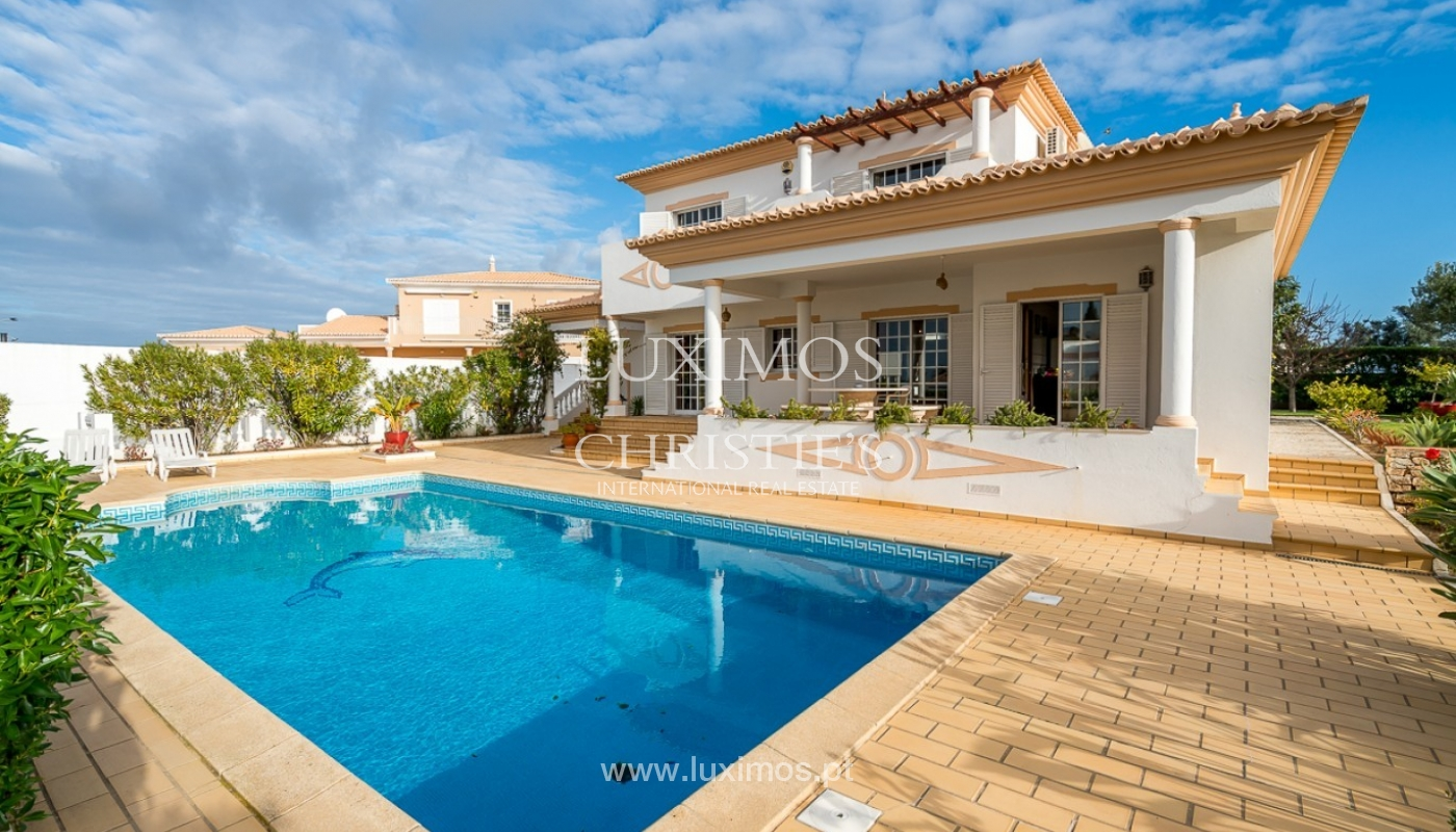 Sale of villa with pool and sea view in Albufeira, Algarve, Portugal_92161