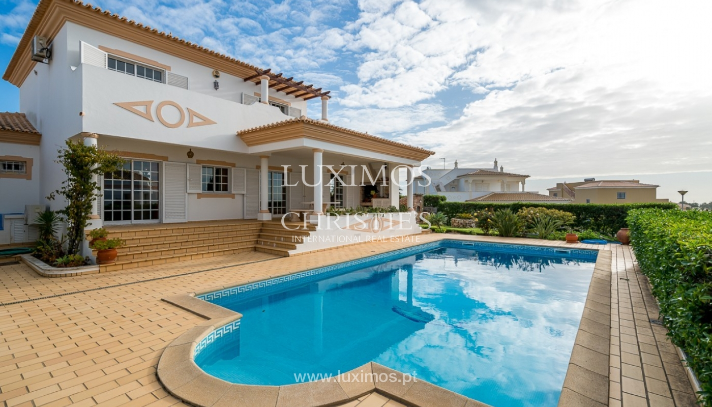 Sale of villa with pool and sea view in Albufeira, Algarve, Portugal_92162