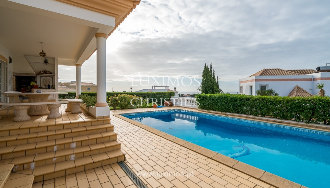 Sale of villa with pool and sea view in Albufeira, Algarve, Portugal_92163
