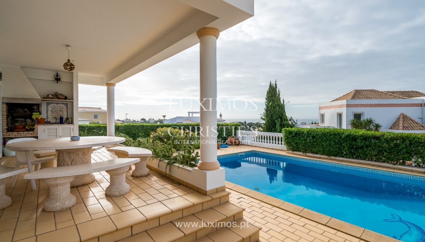 Sale of villa with pool and sea view in Albufeira, Algarve, Portugal_92164
