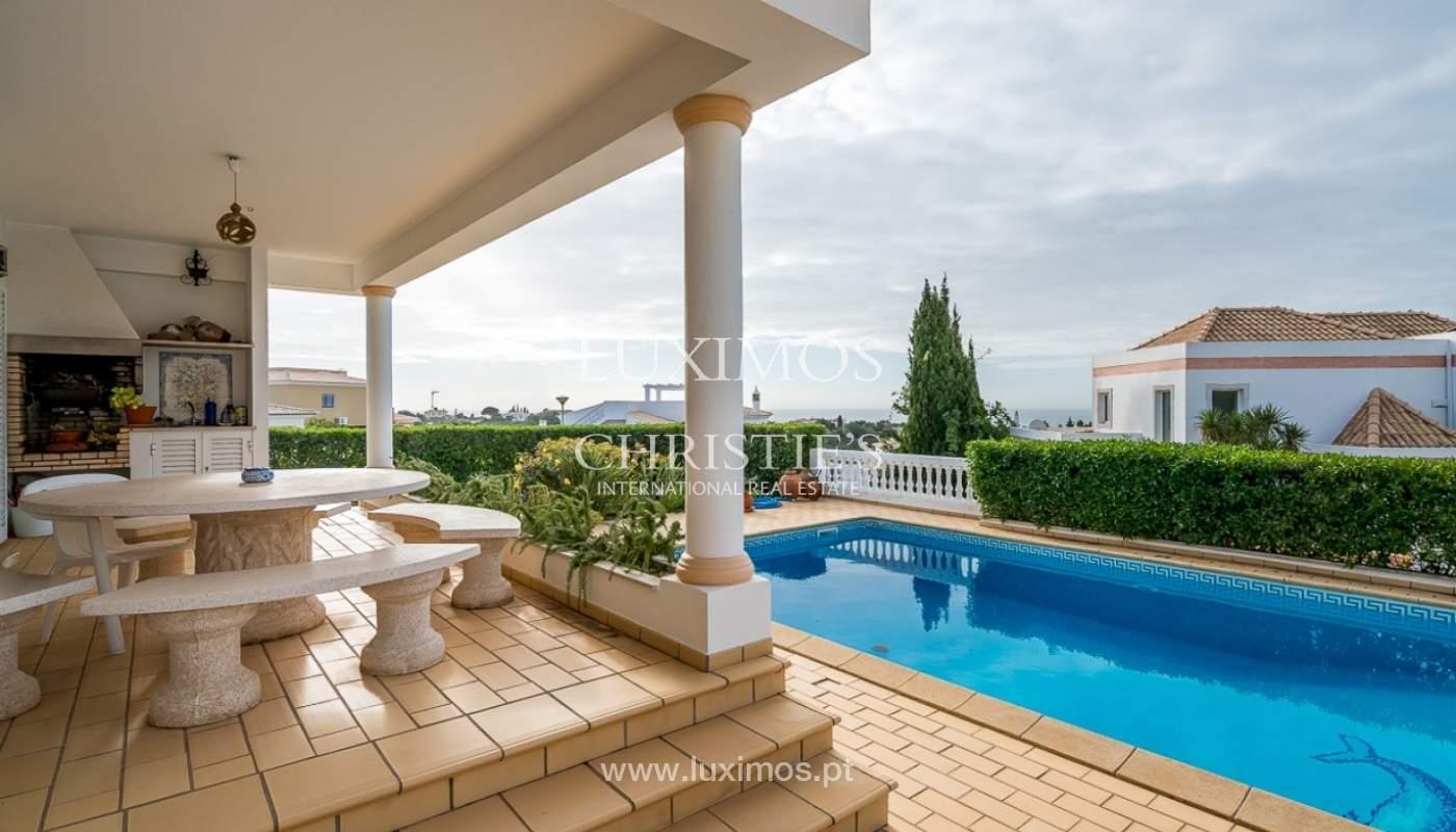 Venda de moradia com piscina e vista mar em Albufeira, Algarve_92164