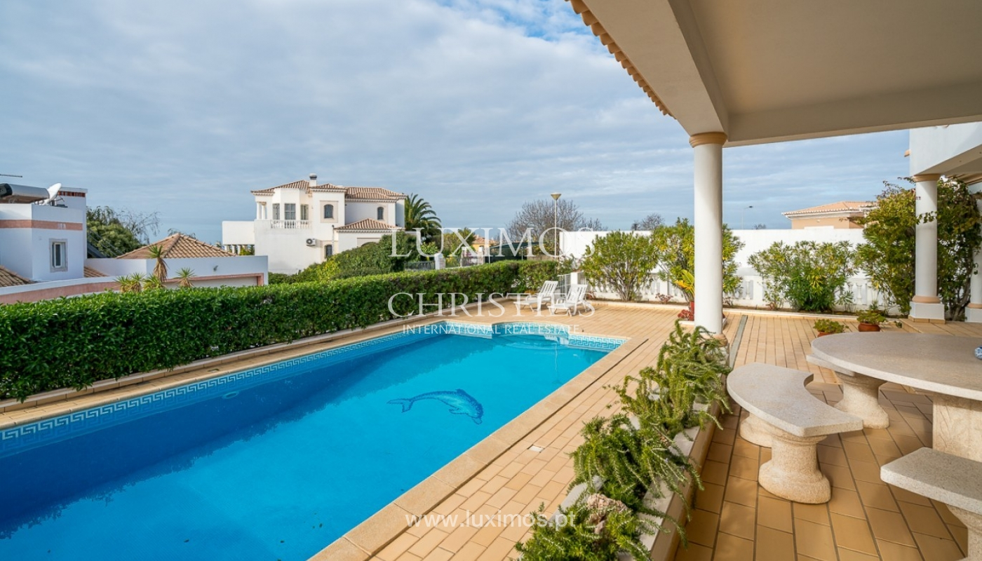 Sale of villa with pool and sea view in Albufeira, Algarve, Portugal_92167