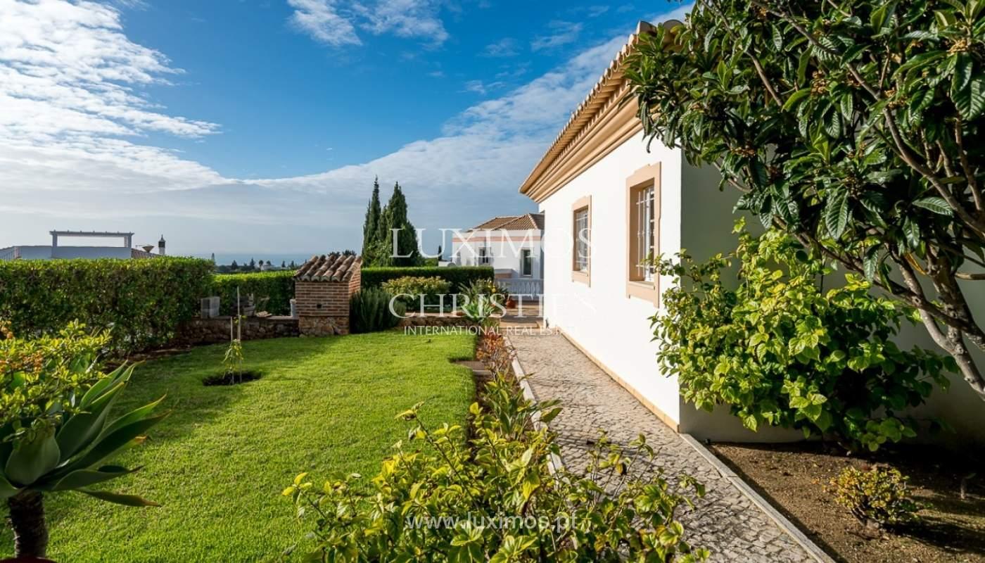 Venda de moradia com piscina e vista mar em Albufeira, Algarve_92190