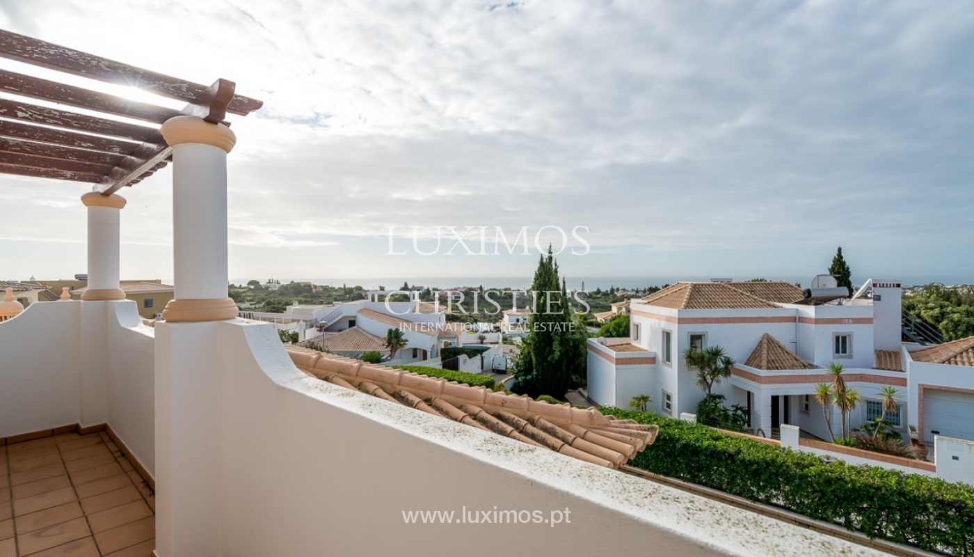 Sale of villa with pool and sea view in Albufeira, Algarve, Portugal_92194