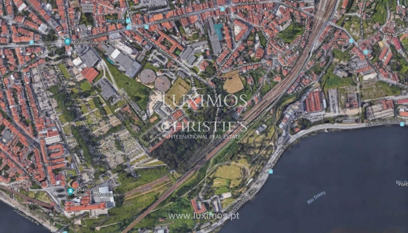 Verkauf Land mit Blick auf den Fluss, in Bonfim, Porto_92534