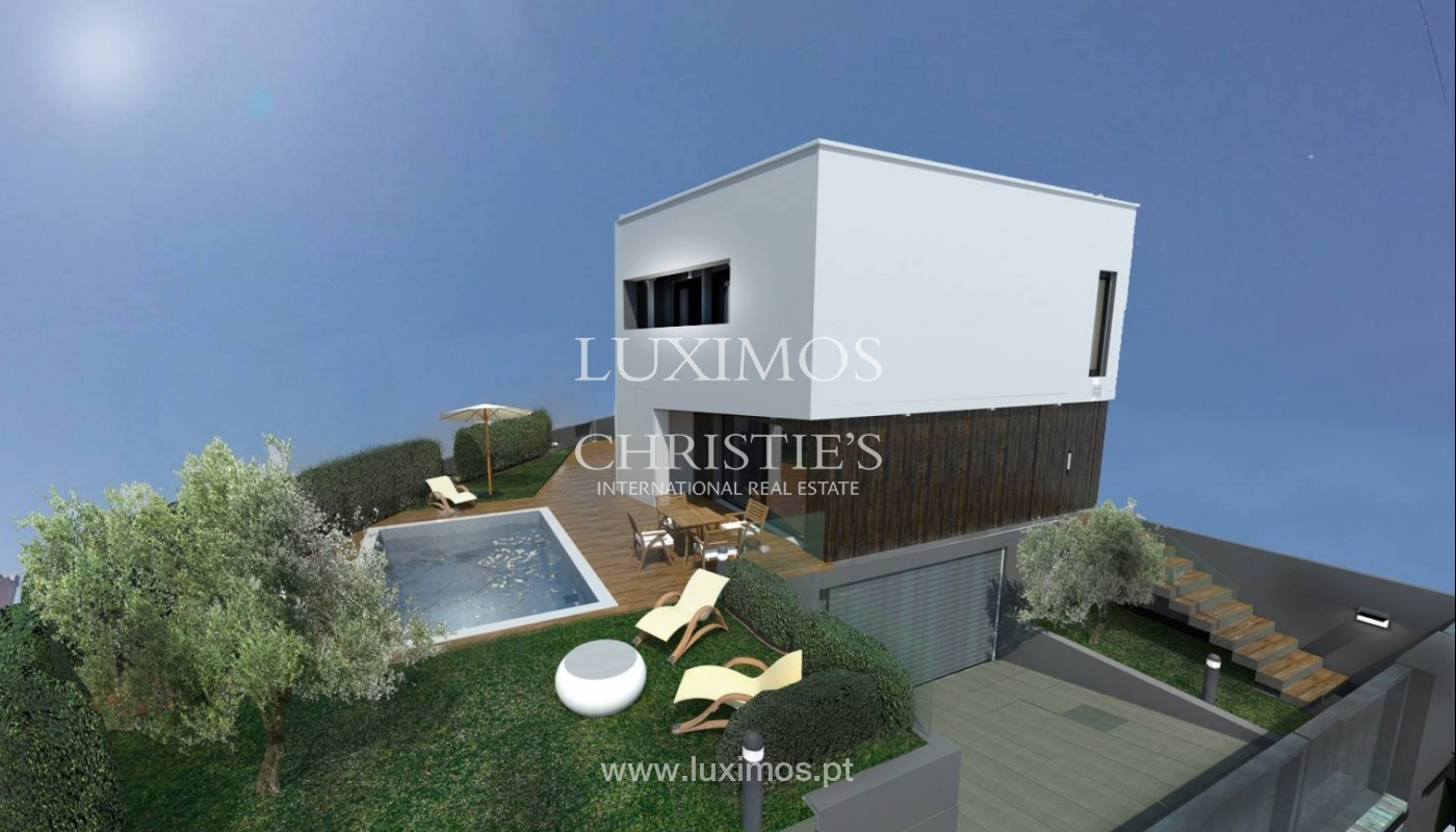 Sale of Modern villa in construction, Campanhã, Porto, Portugal _92814