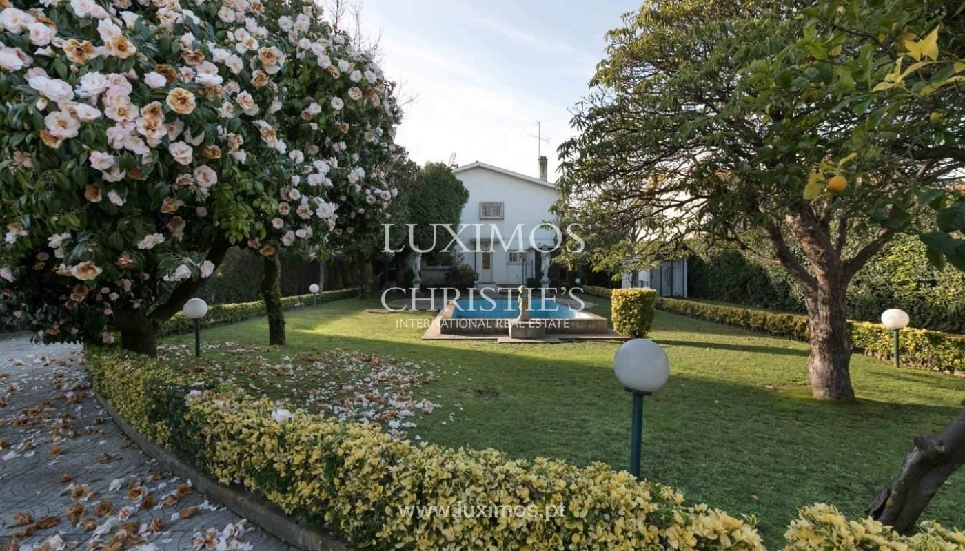 Sale of Villa with garden and lake, Porto, Portugal _93067