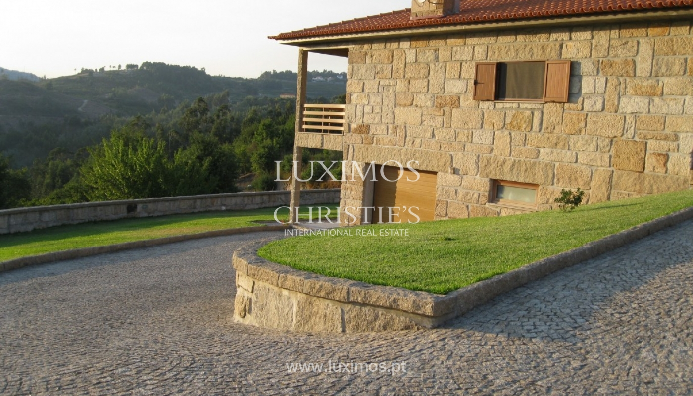 Country house with orchard and fantastic river views in Baião, Portugal_9330