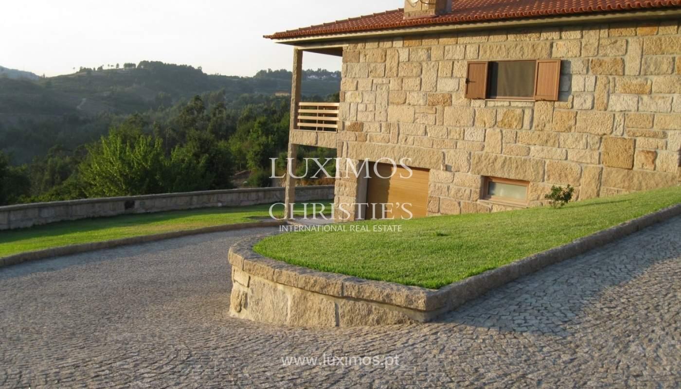 Maison de campagne avec verger et une vue fantastique sur la rivière à Baião, Portugal_9330