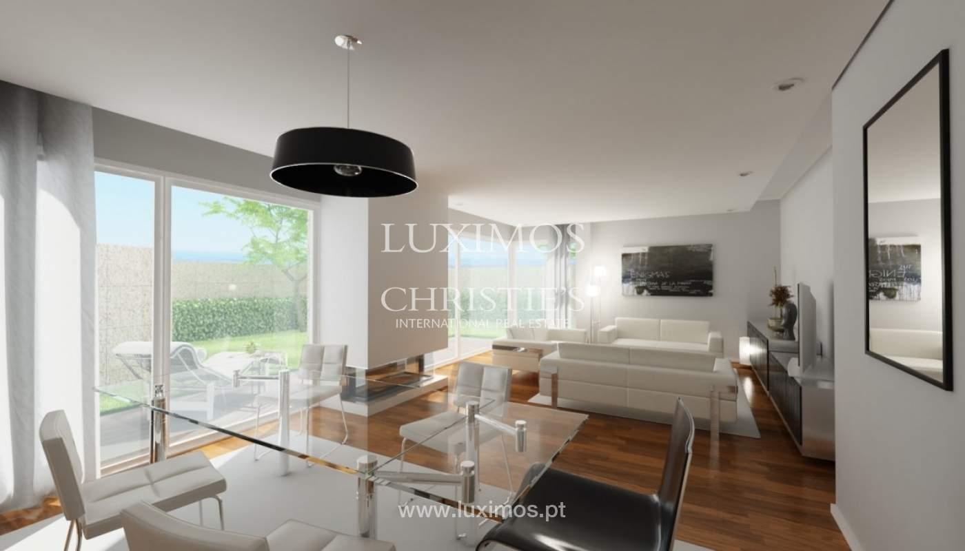 Venda de apartamento novo de luxo, com jardim, em Serralves, Porto_93422