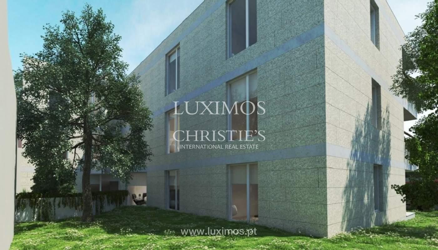 Venda de apartamento novo de luxo, com jardim, em Serralves, Porto_93427