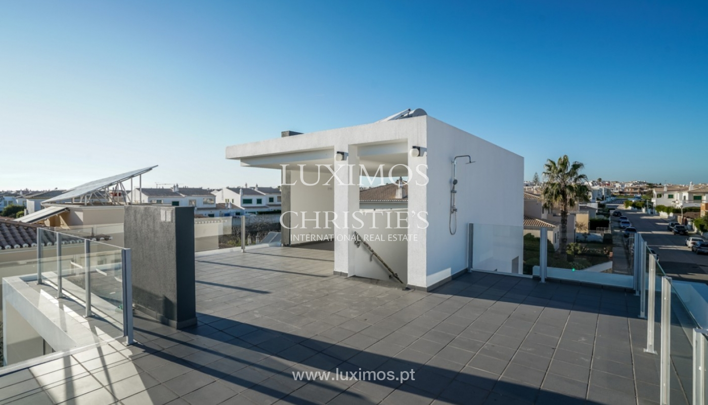 Sale of modern new sea view villa in Lagos, Algarve, Portugal_93569