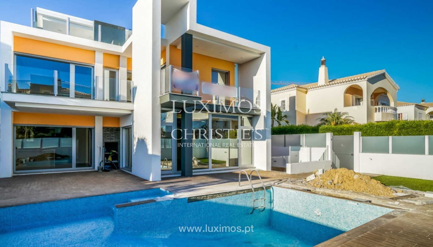 Sale of modern new sea view villa in Lagos, Algarve, Portugal_93577