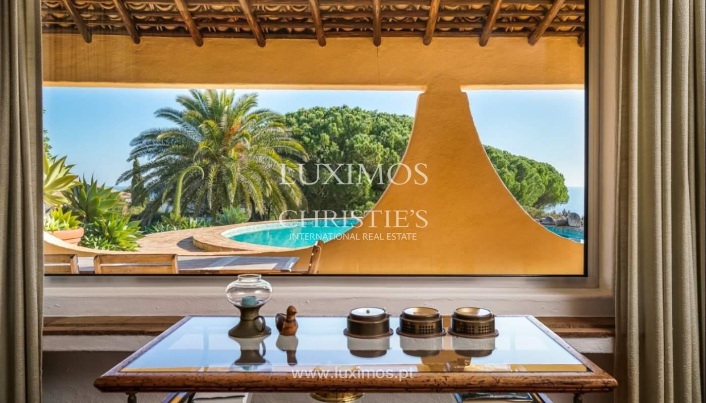 Sale of villa with sea view in Lagos, Algarve, Portugal_93636