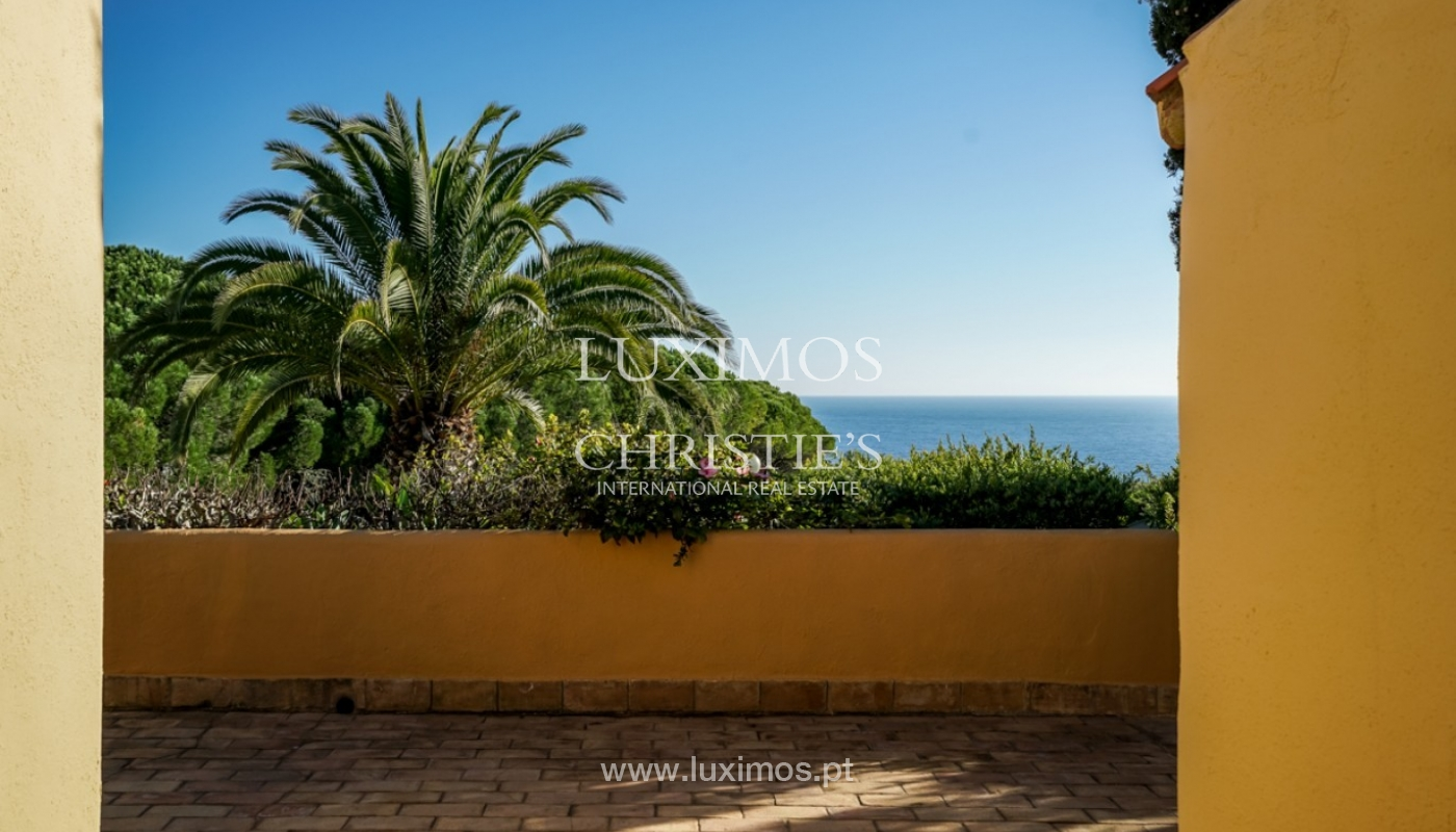 Sale of villa with sea view in Lagos, Algarve, Portugal_93663