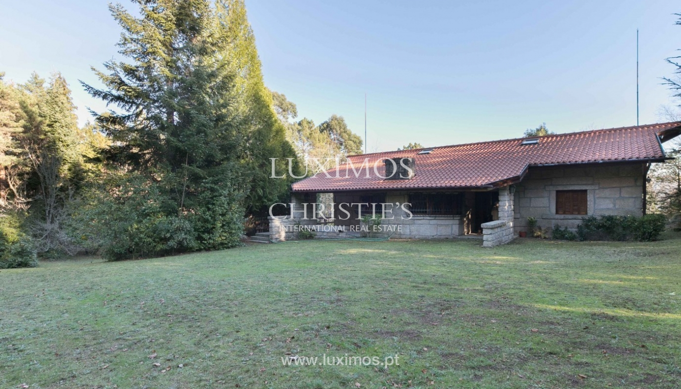 Sale of country house with pool, in protected area, Gerês, Portugal_93891