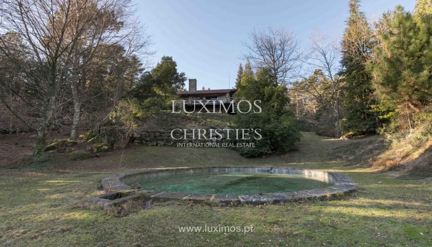 Venta de Chalet con piscina en la zona protegida de Gerês, Portugal_93899