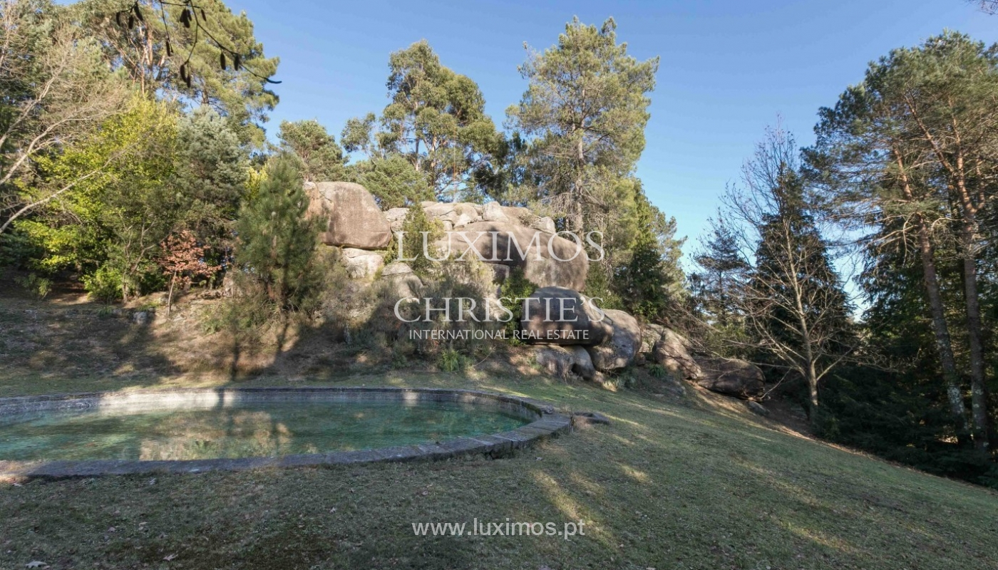 Sale of country house with pool, in protected area, Gerês, Portugal_93902
