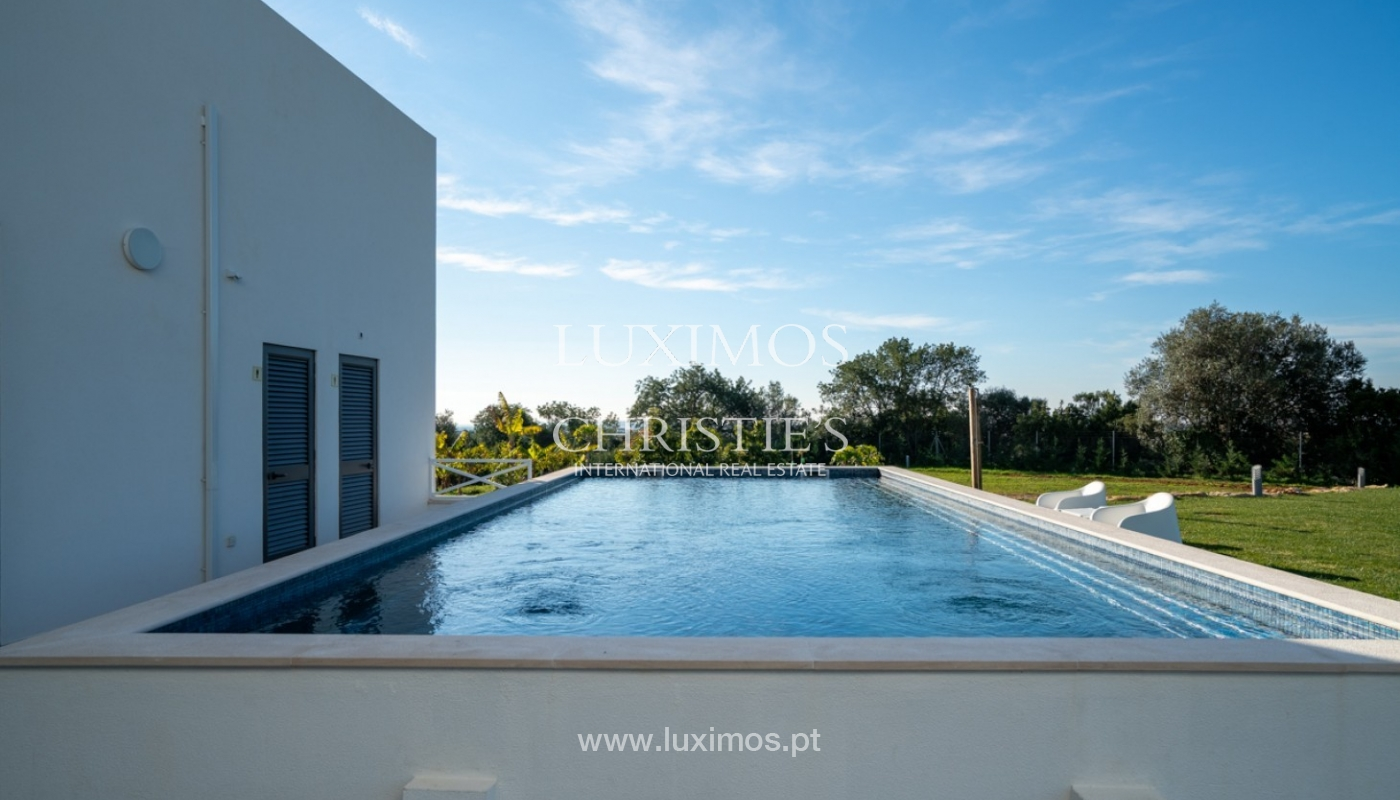 Sale of modern villa with sea view in Faro, Algarve, Portugal_94292