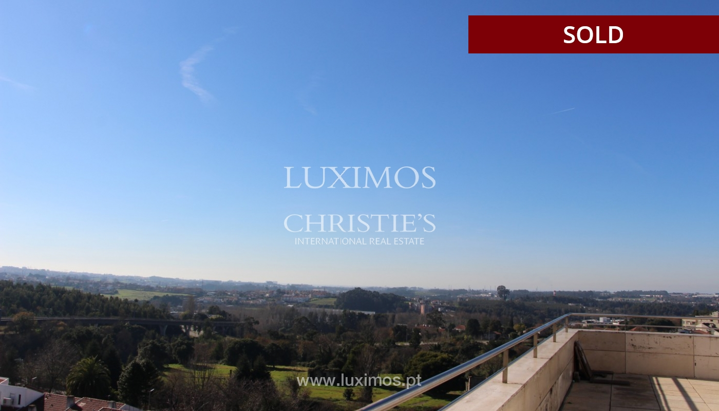 Sale of  3 fronts penthouse with terrace, Maia, Porto, Portugal_94679