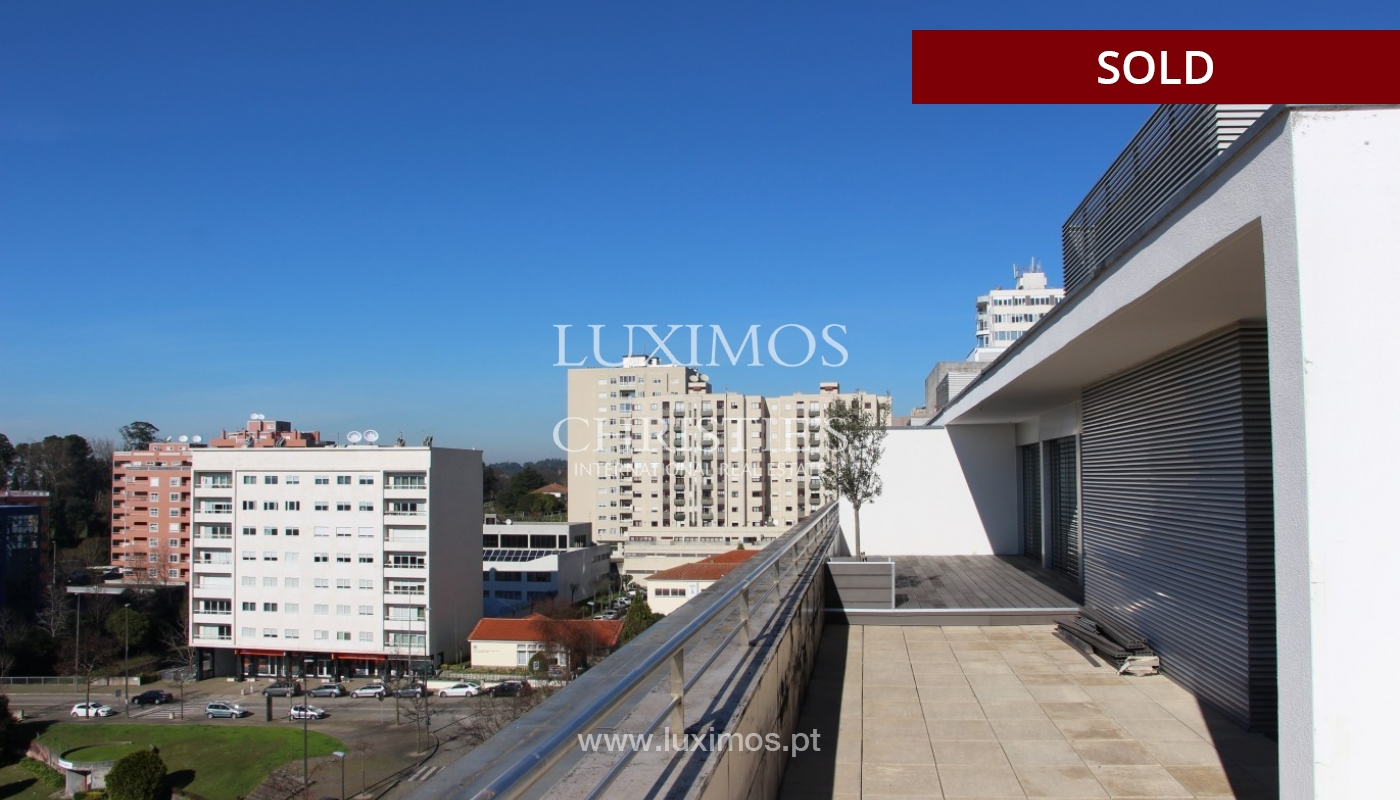 Sale of  3 fronts penthouse with terrace, Maia, Porto, Portugal_94681
