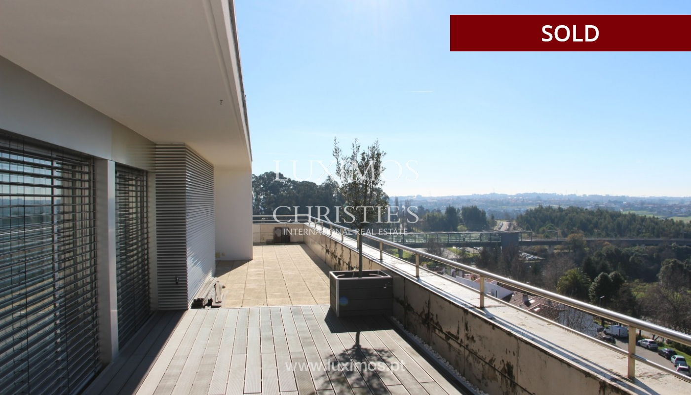 Sale of  3 fronts penthouse with terrace, Maia, Porto, Portugal_94683