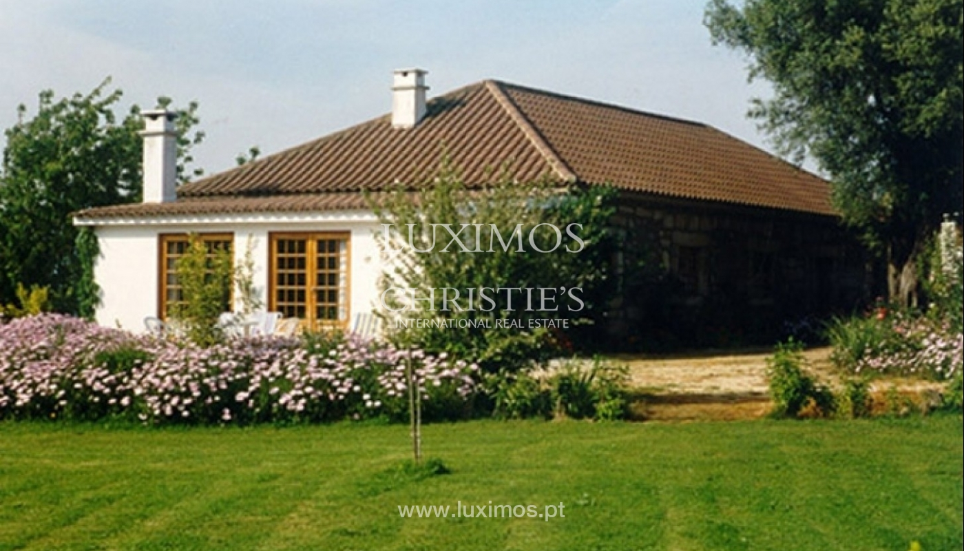 Country house with garden, swimming pool and tennis court in Quintiães, Portugal_9474