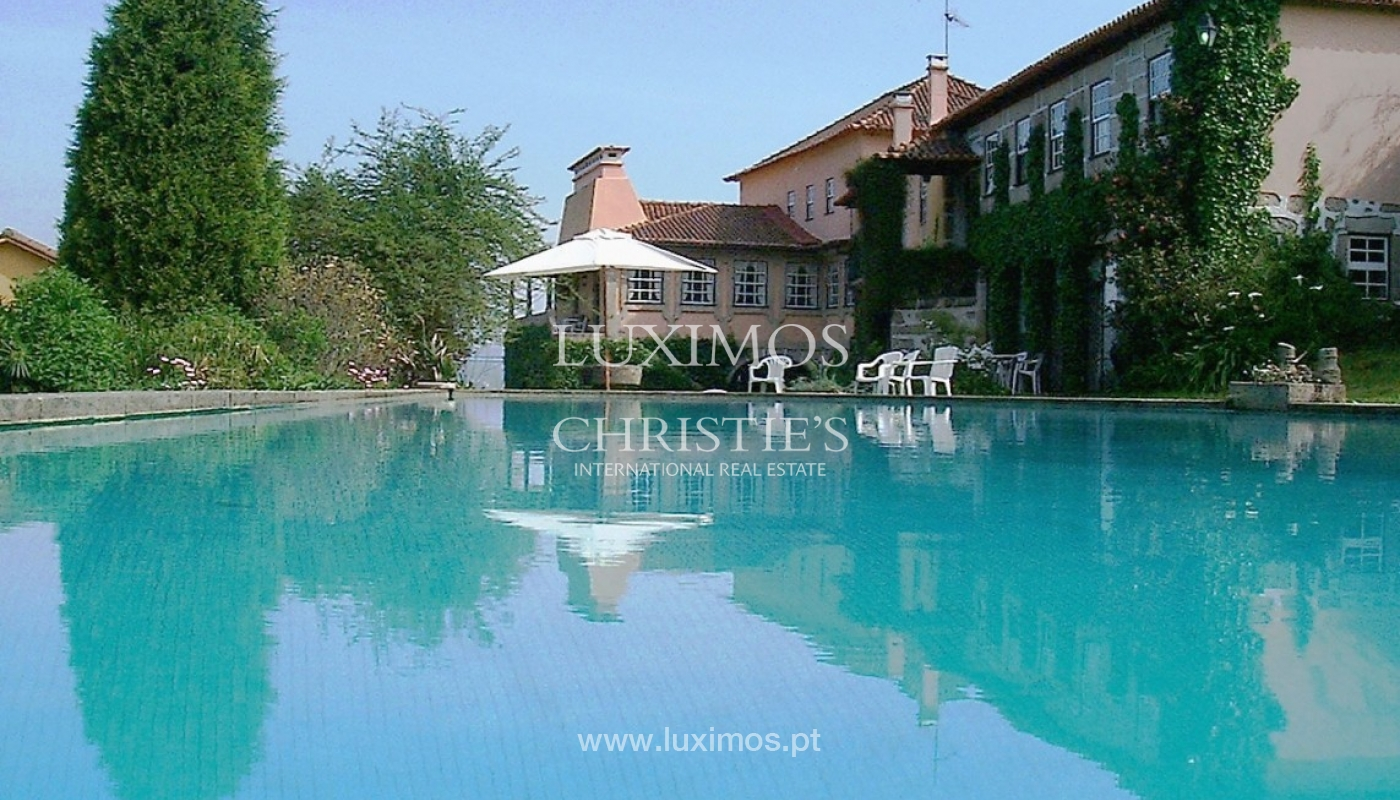 Country house with garden, swimming pool and tennis court in Quintiães, Portugal_9504