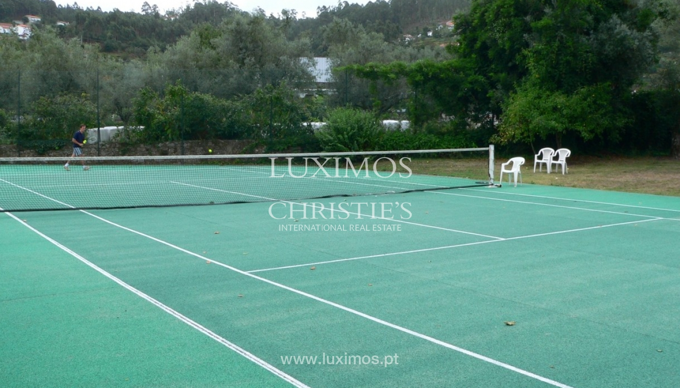 Country house with garden, swimming pool and tennis court in Quintiães, Portugal_9512