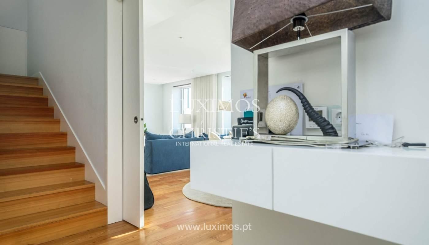 Sale of luxury duplex apartment, ocean views, Leça Palmeira, Portugal_95601