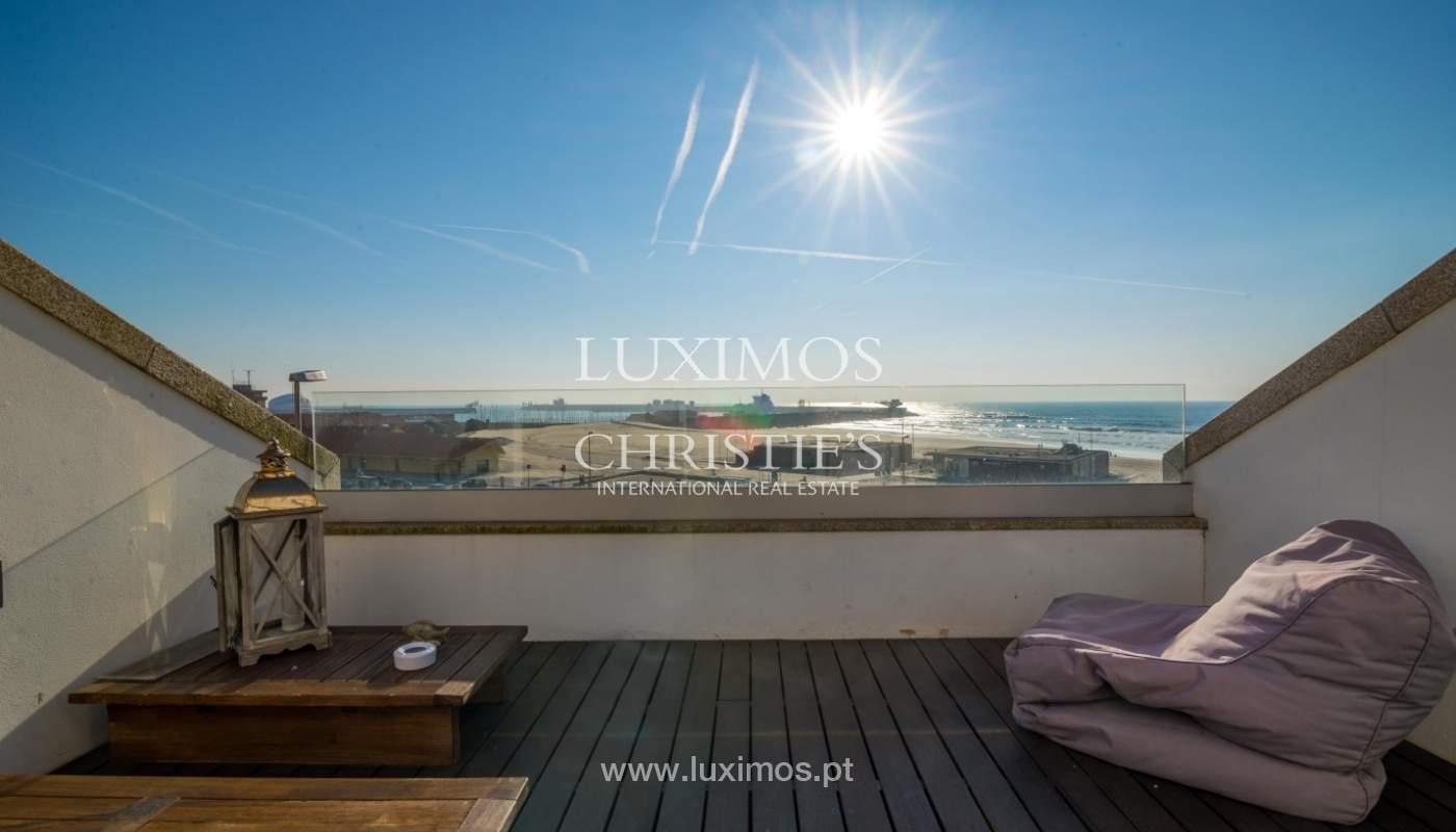 Sale of luxury duplex apartment, ocean views, Leça Palmeira, Portugal_95609