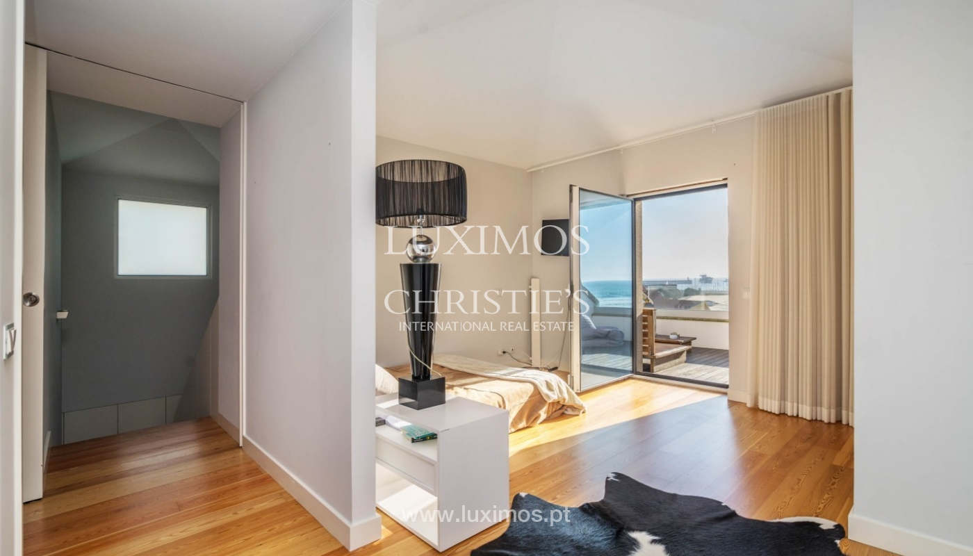 Sale of luxury duplex apartment, ocean views, Leça Palmeira, Portugal_95614