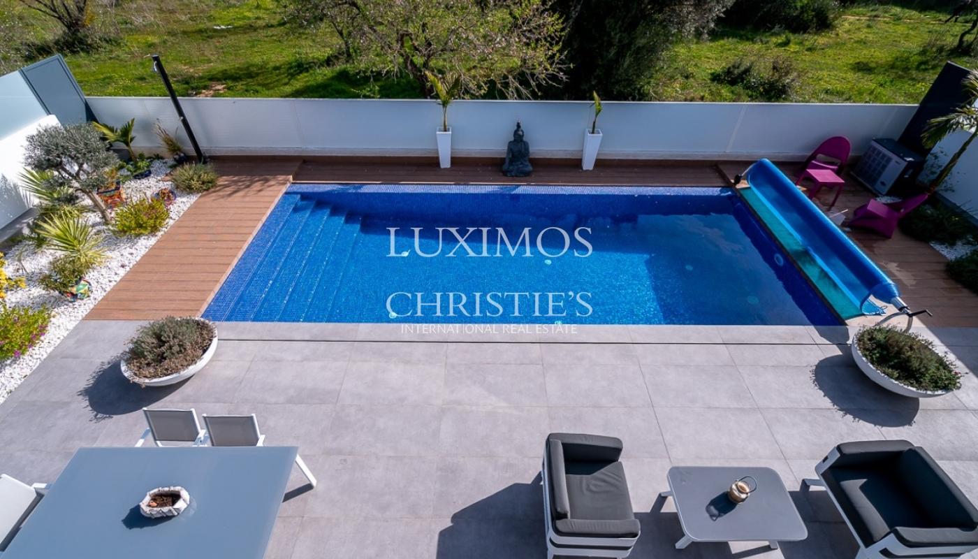 Sale of luxury modern villa with pool in Albufeira, Algarve, Portugal_96998